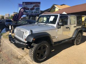 Pre-owned Jeep Wrangler Unlimited for sale in Namibia