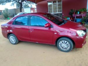 Pre-owned Toyota Etios for sale in Namibia