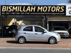 Pre-owned Nissan March for sale in Namibia