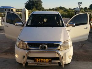 Pre-owned Toyota Hilux VVTi for sale in Namibia