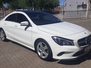 Pre-owned Mercedes-Benz CLA Class for sale in Namibia